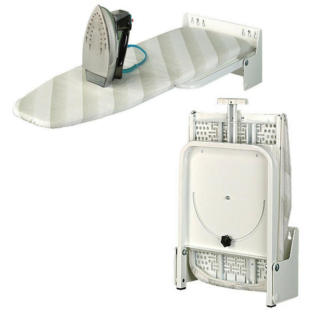 Folding Wall-Mounted Ironing Board