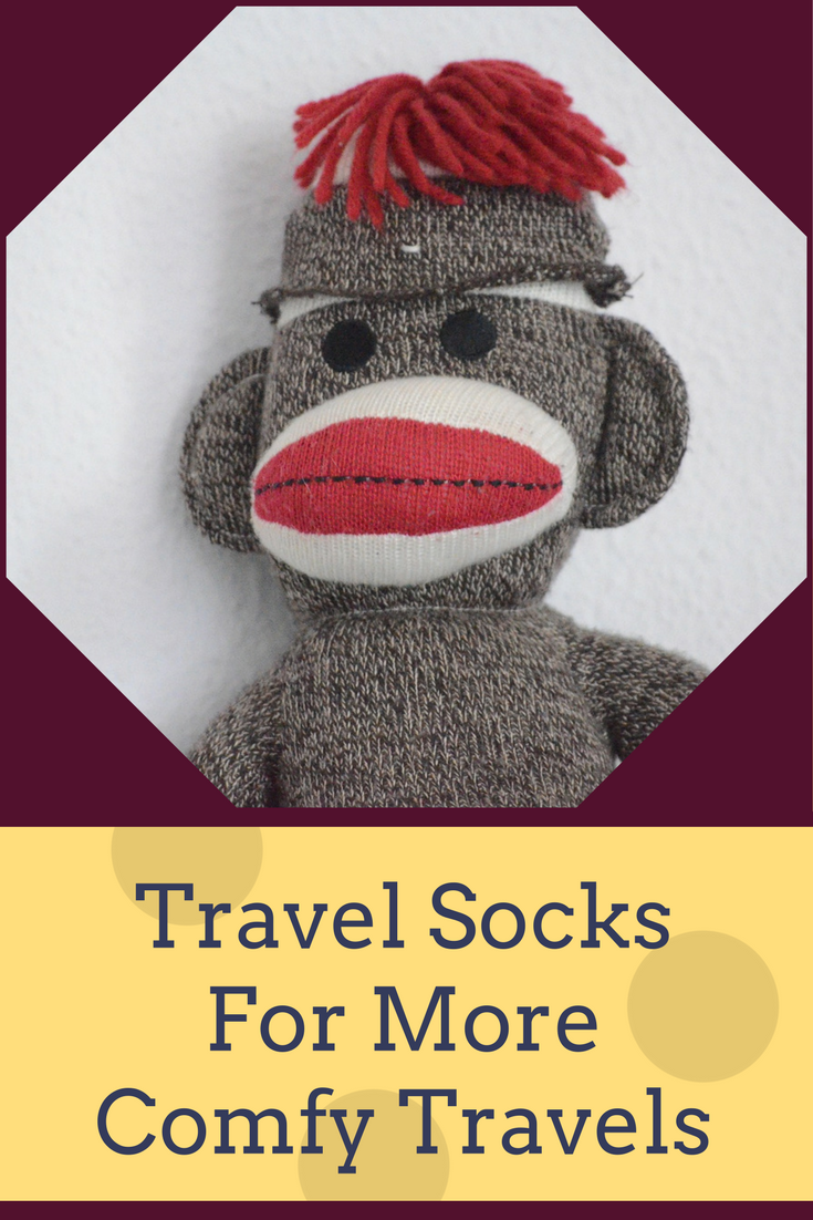 Travel tip - eliminate sore legs and potential medical issues on those long trips by using compression socks.